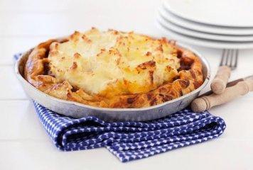 Whole - Mince potato top Pie