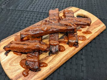Slow Roasted BBQ Pork Ribs