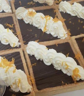 Single Serve- Chocolate orange tart