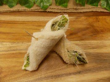Asparagus Bread Roll Up